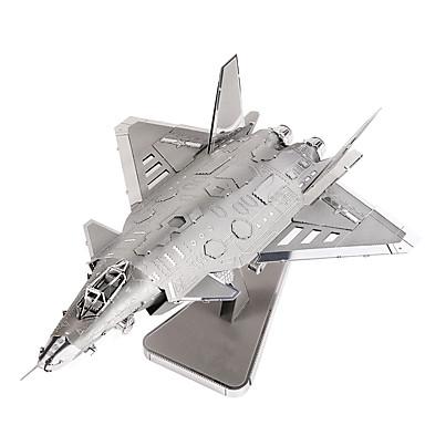 Puzzle 3D puzzle Stavební bloky DIY hračky Letadlo Kov Modelování