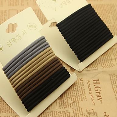 Elásticos & Ties Acessórios de cabelo Elastano perucas Acessórios para Mulheres