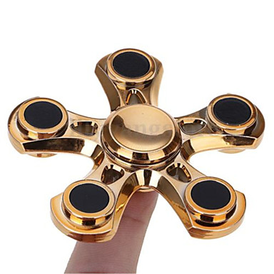 Hand spinne Spinners de mão / Mão Spinner Por matar o tempo / O stress e ansiedade alívio / Brinquedo foco Metalic Clássico Peças Para