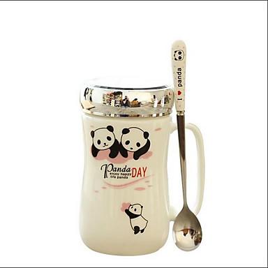 Lässig/Alltäglich Trinkbecher, 450 Saft Milch Gläser und Tassen für den täglichen Gebrauch