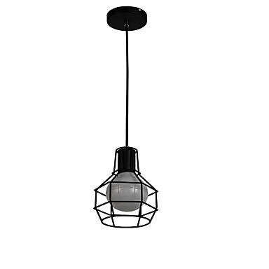 Luzes Pingente Luz Descendente Galvanizar Metal LED 220-240V / 100-120V Amarelo Lâmpada Não Incluída / E26 / E27