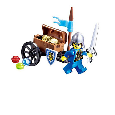 ENLIGHTEN Blocos de Construir Brinquedo Educativo Guerreiro Clássico Para Meninos Brinquedos Dom