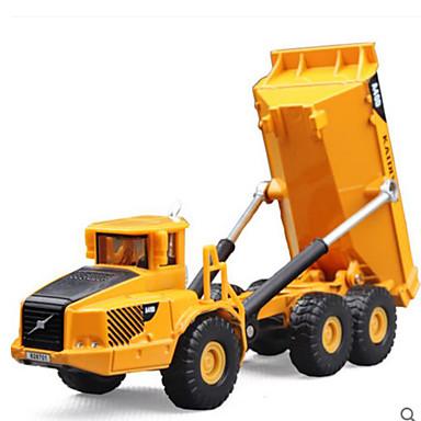 KDW Caminhão basculante Caminhões & Veículos de Construção Civil Carros de Brinquedo Plástico Brinquedos Dom