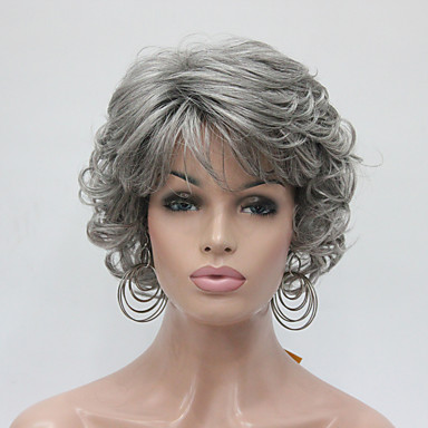 Synthetic Hair Wigs Curly Capless Carnival Wig Halloween