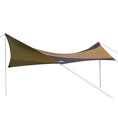 DesertFox® Abrigo para Acampamento Abrigo e Lona Encerada Único Barraca de acampamento Ao ar livre Tenda Dobrada Prova-de-Água Resistente