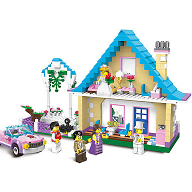 ENLIGHTEN Carros de Brinquedo / Blocos de Construir / Brinquedo Educativo Clássico Para Meninos Dom
