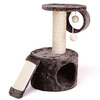 Katzenspielsachen Haustierspielsachen Interaktives Kratzbaum Sisalhanf