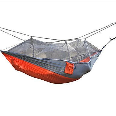 2 Pessoas Rede para Acampamento com Tela Mosqueteira Á Prova de Humidade Bem Ventilado Prova-de-Água Portátil Ultra Leve (UL) Secagem