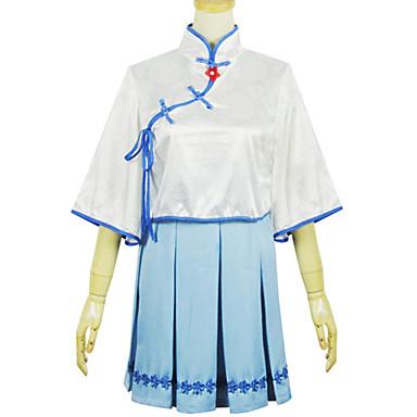 Einteilig/Kleid Niedlich Lolita Cosplay Lolita Kleider Modisch Kurzarm Kurz / Mini Kleid Zum
