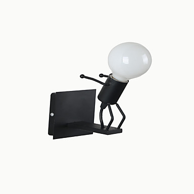 벽 빛 다운라이트 벽 램프 40W 110-120V 220-240V E27 러스틱/ 롯지 전통적/ 클래식 컨츄리 노블티 페인팅
