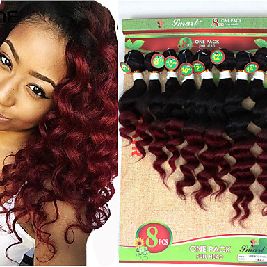 Braiding Hair Curly / Loose Wave Curly Braids / Hair Accessory / Human Hair Extensions Virgin Human Hair Hair Braids Crochet Braids Daily Brazilian Hair