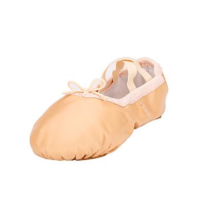 Mulheres Sapatilhas de Balé Courino Sapatilha Sem Salto Não Personalizável Sapatos de Dança Verde Tropa / Vermelho / Azul / Espetáculo