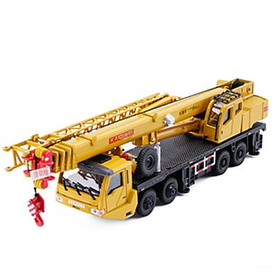 KDW Guindaste Caminhões & Veículos de Construção Civil Carros de Brinquedo Carrinhos de Fricção Metal Para Meninos Crianças Brinquedos Dom