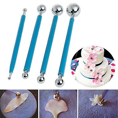 Ferramentas bakeware Aço Inoxidável Casamento / Aniversário / Dia dos namorados Bolo / para bolo / para Candy Ferramenta de decoração 4pçs
