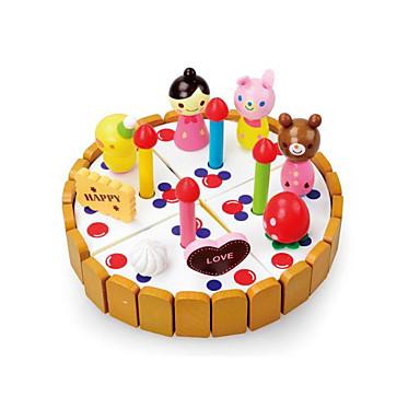 Bausteine Tue so als ob du spielst Spielzeuge Kreisförmig Holz Kinder Stücke
