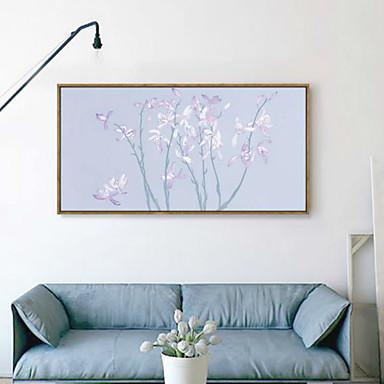 Květiny a rostliny 3D umění v rámu Wall Art Materiál s rámem For Home dekorace rám Art Obývací pokoj Ložnice dětský pokoj 1ks / Set