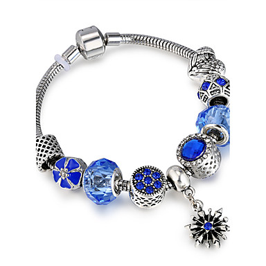 Women's Strand Bracelet - Ladies, Luxury, Friendship, Stretch, Fashion Bracelet Jewelry Blue For Christmas Christmas Gifts Wedding Party Special Occasion Anniversary