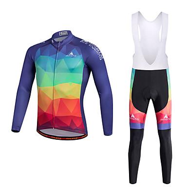 Miloto Fahrradtrikot mit Trägerhosen Herrn Fahhrad Kleidungs-Sets Unten Polyester 100% Polyester LYCRA® Radsport/Fahhrad