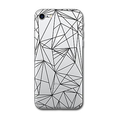 Carcasă Pro Apple iPhone X iPhone 8 Vzor Zadní kryt Kachlička Geometriské vzory Měkké TPU pro iPhone X iPhone 8 Plus iPhone 8 iPhone 7