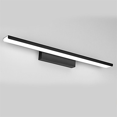 81cm الحديثة أدى 32w مصباح مرآة الحمام أضواء 90-240v مواد الألومنيوم والأكريليك الجدار أضواء المكياج الإضاءة