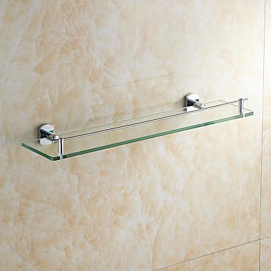 Prateleira de Banheiro Alta qualidade Modern Metal 1 Pça. - Banho do hotel Montagem de Parede