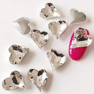 10 pcs Fashionable Jewelry / Fashion Nail Art Design Daily