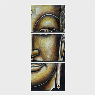 Aufgespannte LeinwandruckeDrei Paneele Vertikal Druck Wand Dekoration For Haus Dekoration