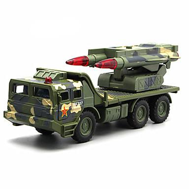 Carros de Brinquedo Brinquedos Modelo de Automóvel Caminhão Veículo Militar Brinquedos Simulação Música e luz Caminhão Liga de Metal Peças