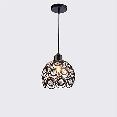 Luz pingente de cristal moderno mini estilo de pintura de metal sala de estar quarto sala de jantar cozinha iluminação