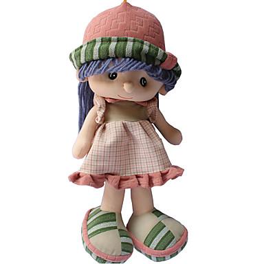 40cm Boneca de pelúcia Boneca menina Fofinho Segura Para Crianças Adorável Non Toxic Adorável Tecido Felpudo Para Meninas Dom