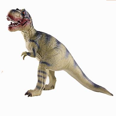 Dragões & Dinossauros Figuras de dinossauro tiranossauro Dinossauro jurássico Triceratops Tiranossauro Rex Plástico Crianças Dom