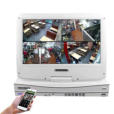 10.1 inç 4kn 960p / 720p hdmi ve p2p lcd NVR ile