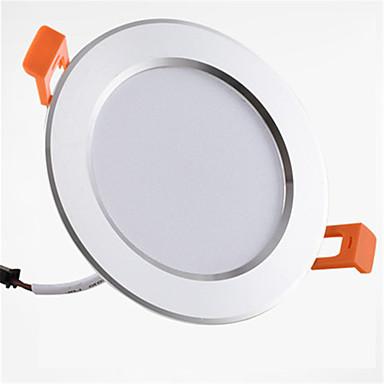 billige Elpærer-1pc 9 W 900 lm 20 LED perler Lett installasjon Nedfellt Led-Nedlys Varm hvit Kjølig hvit 85-265 V Hjem / kontor Barneværelser Kjøkken / 1 stk. / RoHs / CE