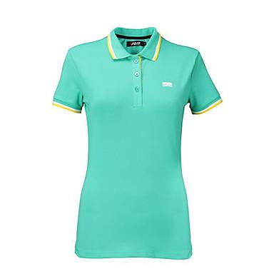 Mulheres Manga Curta Golfe Camiseta Blusas Golf Golfe