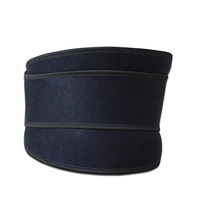 Faixa Lombar para Corrida Exterior Adulto Equipamento de Segurança Esporte 1pç Preto Azul