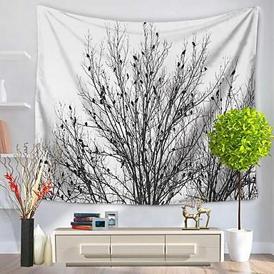 Landschaft Wand-Dekor 100% Polyester Mit Mustern Wandkunst, Wandteppiche Dekoration
