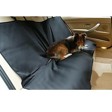 Cachorro Cobertura de Cadeira Automotiva Animais de Estimação Capachos e Alcochoadas Sólido Prova-de-Água Portátil Dobrável Dupla Face