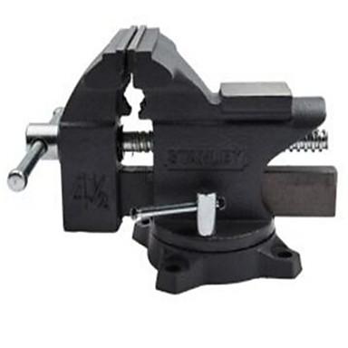 Stanley 4.5 / 115 mm světelná svěrák z odolné litiny poskytuje vysokou pevnost upínací sílu