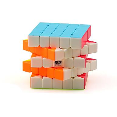 Rubik's Cube QI YI Warrior 5*5*5none Cubo Macio de Velocidade Cubos mágicos Cubo Mágico Concorrência Quadrada Dom Unisexo