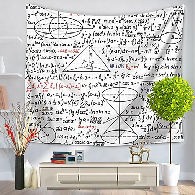Škola, promoce Wall Decor 100% polyester Se vzorem / Aktivní Wall Art, Nástěnné tapiserie Dekorace