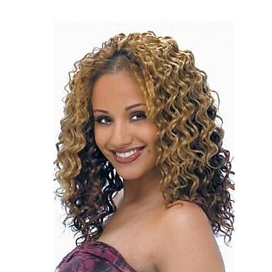 Encaracolado Deep Twist Crochê 100% cabelo kanekalon Extensões de Cabelo Natural Tranças Encaracoladas Tranças de cabelo Diário