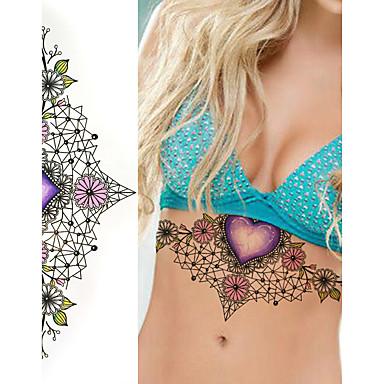 Tetovací nálepky Ostatní Non Toxic Waterproof Dámské Flash Tattoo dočasné tetování