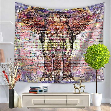 Tiere Abstrakt Wand-Dekor 100% Polyester Mit Mustern Abstrakt Wandkunst, Wandteppiche Dekoration