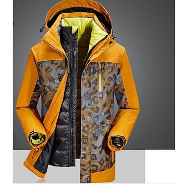 Herrn 3-in-1 Jacken warm halten Oberteile für Skifahren Leger Frühling/Herbst Winter Männer XXL
