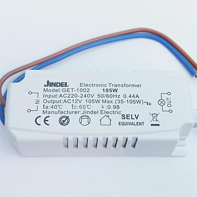 ledový elektronický transformátor 105w vysoce kvalitní světelné příslušenství