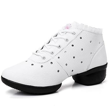 Damen Stiefel Komfort Modische Stiefel Kunstleder Frühling Sommer Herbst Winter Normal Kleid Walking Komfort Modische Stiefel Tupfen