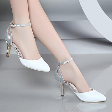 Dámské Sandály PU Léto Kačenka Bílá Růžová 2.5 - 4.5 cm