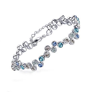 Damen Ketten- & Glieder-Armbänder Schmuck Natur Handgemacht Modisch Vintage Krystall Aleación Ovale Form Schmuck FürHochzeit Party