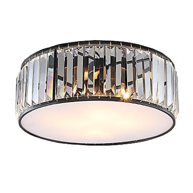 UMEI™ 4-luz Montagem do Fluxo Luz Ambiente - Cristal, LED, 110-120V / 220-240V Lâmpada Não Incluída / 10-15㎡