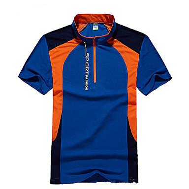 Herrn T-Shirt für Wanderer Außen Rasche Trocknung Atmungsaktiv T-shirt Oberteile Camping & Wandern Jagd Angeln Klettern
